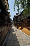 De straat Japan van Kyoto stock afbeeldingen