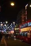 De Straat Londen van Oxford Stock Afbeeldingen