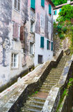 De straat met de trap Royalty-vrije Stock Afbeelding