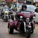 7 de Straat Northampton het UK Harley-Davidson van Abington van April 2018 stock afbeelding