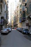 De straat van Alexandrië Stock Afbeeldingen