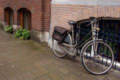 De straat van Amsterdam Stock Fotografie