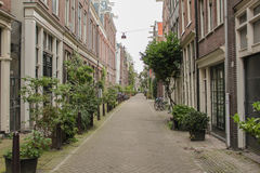 De straat van Amsterdam Royalty-vrije Stock Afbeelding