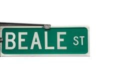 De straat van Beale Stock Afbeeldingen