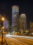 De straat van Boston stock afbeelding
