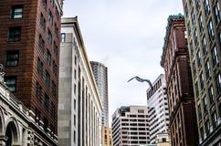 De Straat van Boston Stock Afbeeldingen