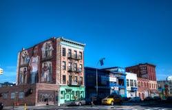 De Straat van Brooklyn, New York Stock Foto's