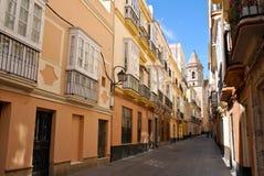 De Straat van Cadiz Stock Afbeelding