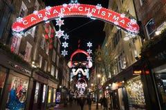 De Straat van Carnaby Royalty-vrije Stock Fotografie