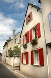 De straat van Chartres Stock Afbeeldingen