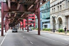 De Straat van Chicago Stock Fotografie