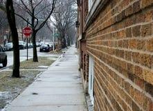 De Straat van Chicago Royalty-vrije Stock Foto's