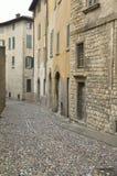 De Straat van Cobbled Stock Afbeeldingen