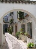 De Straat van Cordoba Royalty-vrije Stock Foto's