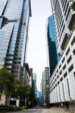 De straat van de binnenstad Stock Fotografie
