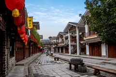 De Straat van de de Rivierdoek van Hunan Zhangjiajie Wulingyuan Royalty-vrije Stock Fotografie