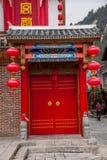 De Straat van de de Rivierdoek van Hunan Zhangjiajie Wulingyuan Stock Foto's