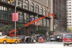 De straat van de film stock foto