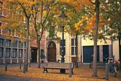 De straat van de herfst Royalty-vrije Stock Afbeeldingen