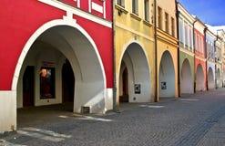 De straat van de kleur Royalty-vrije Stock Afbeeldingen