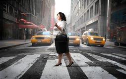 De straat van de stad Royalty-vrije Stock Foto's
