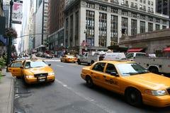 De straat van de Stad tweeënveertigste van Manhattan New York Royalty-vrije Stock Afbeelding