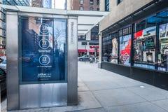 De Straat van de Stad van New York Stock Afbeeldingen