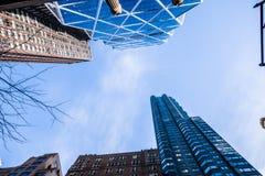 De Straat van de Stad van New York Royalty-vrije Stock Foto's