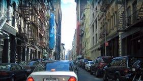 De Straat van de Stad van New York Royalty-vrije Stock Foto