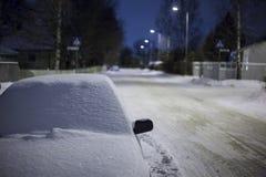 De straat van de winter Royalty-vrije Stock Foto's
