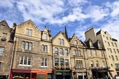 De Straat van Edinburgh - Victoriaanse Huizen royalty-vrije stock foto