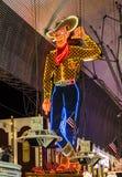 De Straat van Fremont in Las Vegas, Nevada Royalty-vrije Stock Afbeelding