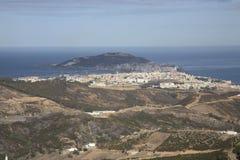De Straat van Gibraltar stock foto