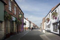 De Straat van Glastonburynorthload Stock Fotografie