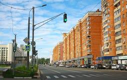 De straat van Gorky in Nizhny Novgorod Stock Afbeelding