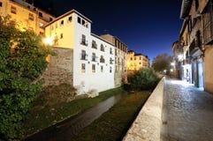 De straat van Granada Royalty-vrije Stock Fotografie