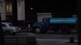 De straat van Havana stock footage