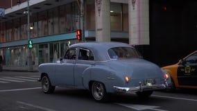 De straat van Havana stock videobeelden