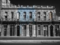 De Straat van Havana, Cuba stock foto's