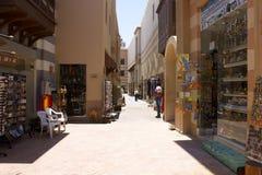 De straat van havenghalib marina Royalty-vrije Stock Afbeelding