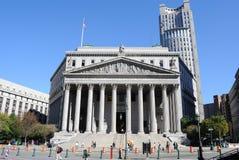 De Straat van het centrum, de Stad van New York Stock Afbeelding