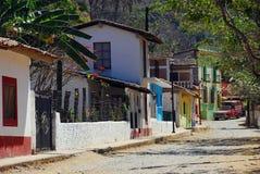 De Straat van het dorp Royalty-vrije Stock Afbeelding
