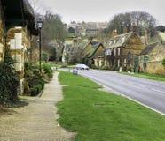 De straat van het dorp Royalty-vrije Stock Afbeeldingen