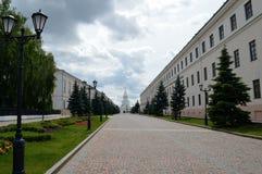 De straat van het Kremlin Royalty-vrije Stock Afbeelding