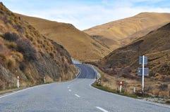De straat van het landschap royalty-vrije stock afbeelding