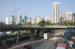 De straat van Hongkong Royalty-vrije Stock Fotografie