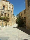 De straat van Jeruzalem royalty-vrije stock afbeelding