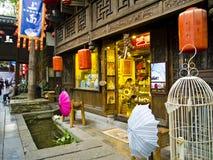 De Straat van Jinli Royalty-vrije Stock Foto