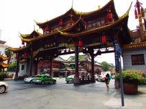 De Straat van Jinli Royalty-vrije Stock Afbeeldingen