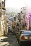 De straat van Lissabon Stock Afbeelding